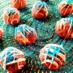 Red, White and Blue Cookie Dough Bites