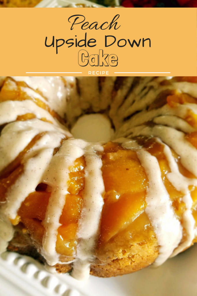 Peach upside down cake is easier to make than you think. A few simple steps ensure you will have a luscious cake to serve at your next gathering.