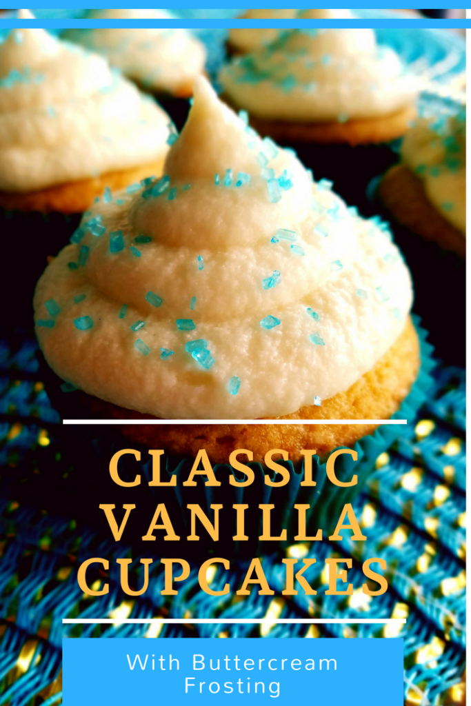 Homemade vanilla cupcakes that are simple to make from scratch and way better than a box mix.