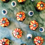 Halloween Eyeball Chocolate Cupcakes