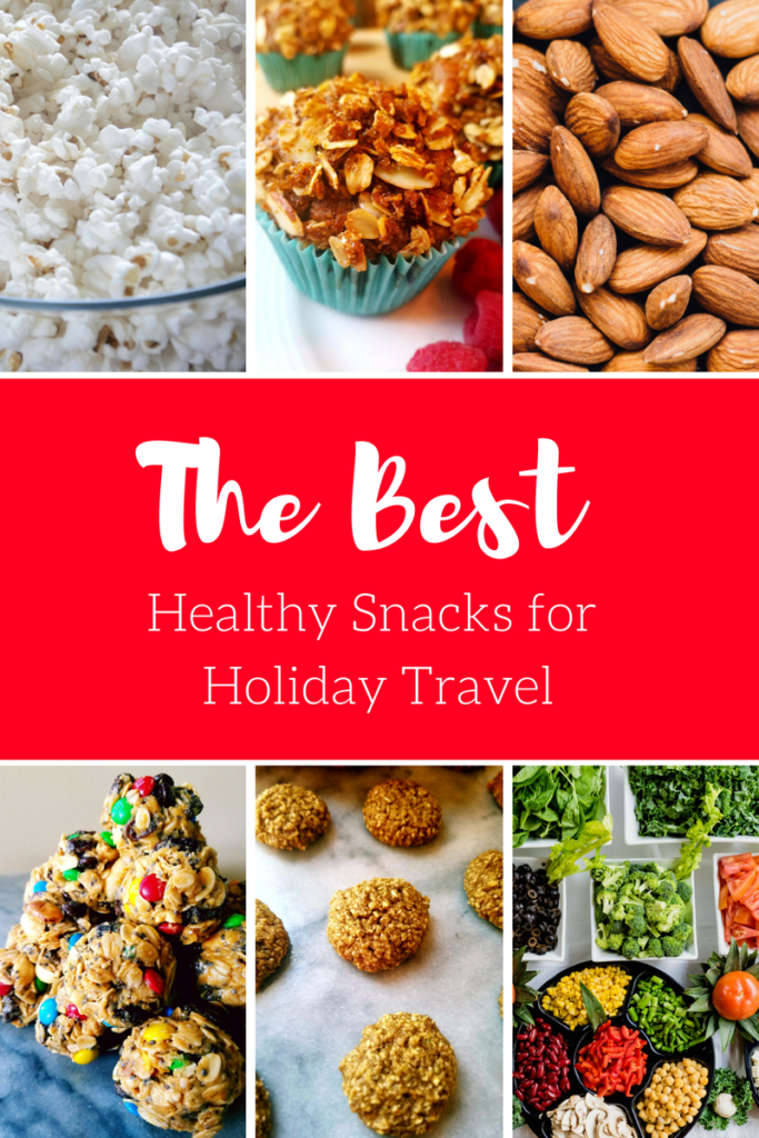 These are some of the best healthy snacks for holiday travel. Pack them up, along with the kids, to make for a less stressful road trip or plane ride.