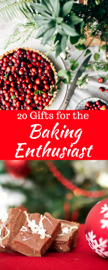 Do you have someone who loves to bake? Are you looking for the perfect gift for that baker? Check out this list of the 20 best gifts for your favorite baker. These gift ideas are sure to please. #gifts #holidays #giftguide #bestgifts #baking