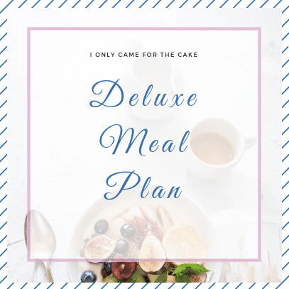 Deluxe Meal Plan product image