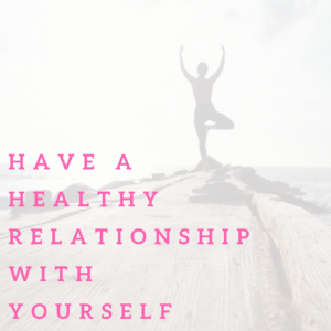 Learn how to truly love yourself with five steps. Having a healthy relationship with yourself is a way to show yourself love and care. You are the most important person. Learn what will help you to love yourself. #selflove