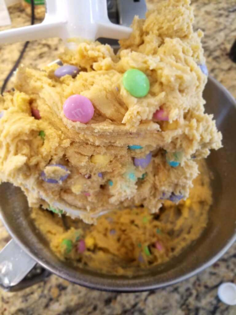 Super soft pudding cookie dough