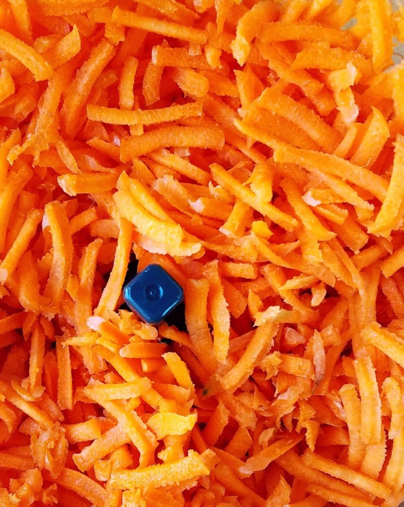 shredded carrots