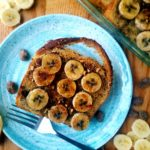 This overnight banana french toast bake tastes just like banana bread, but without all of the hassle. Whip up this easy french toast recipe at night and bake it in the morning for a fast breakfast or brunch recipe.  Easter brunch recipe | Brunch recipe | Easy breakfast recipe