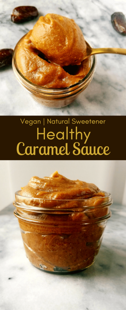 Healthy caramel sauce is made with simple ingredients and can be made as thick or thin as you would like it. The rich caramel flavor is out of this world. You'll be surprised by what makes this healthy caramel sauce so delicious.