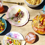 How-To Mix and Match Serving Pieces for a Cookout