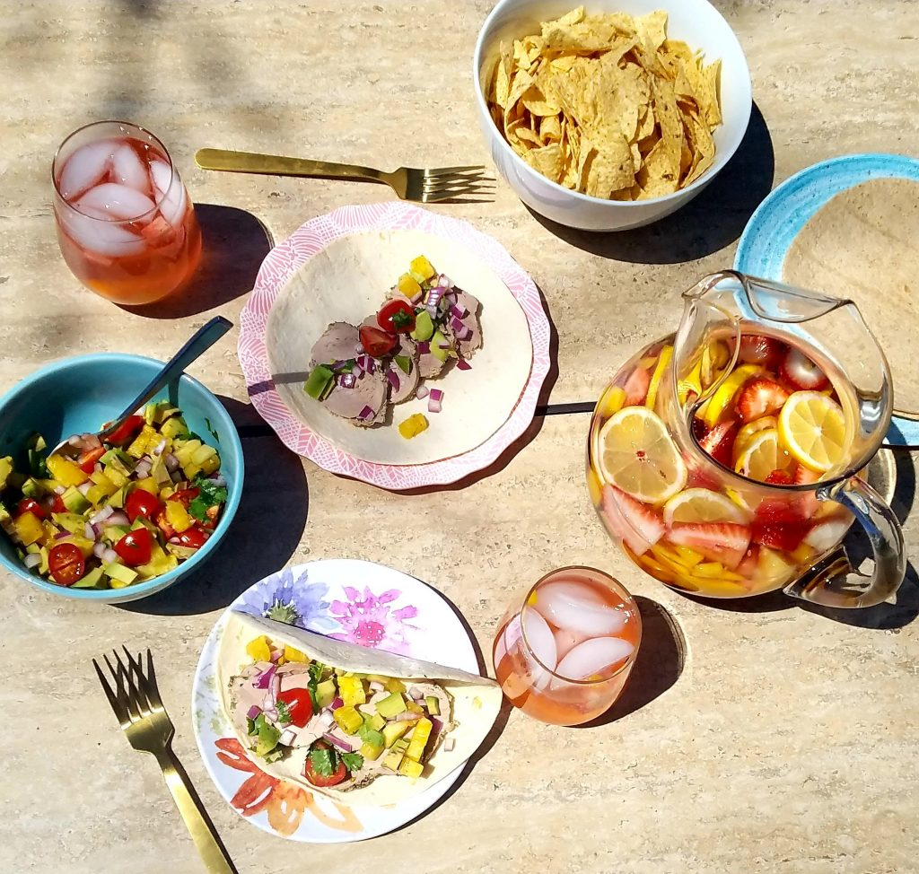 Learn how to mix and match inexpensive serving pieces for your next cookout or BBQ. By the end you'll know how to mix and match different patterns and colors and impress all of your guests at your next patio dinner.