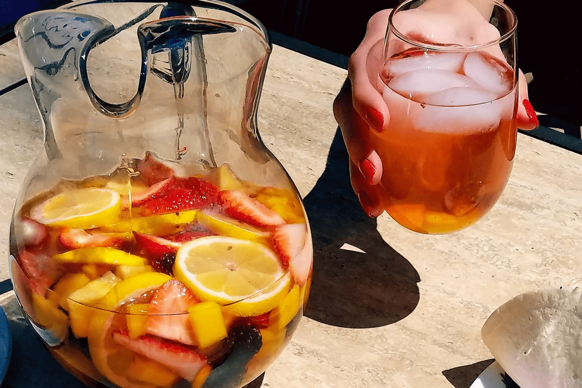 Rosé Strawberry Sangria