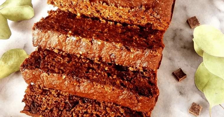 Healthy Chocolate Quick Bread