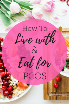 So many women live with PCOS and either know it or don't know they have PCOS. I have PCOS and I'm sharing my story on how I live with and eat/exercise for PCOS. #PCOS #healthydiet #beachbody