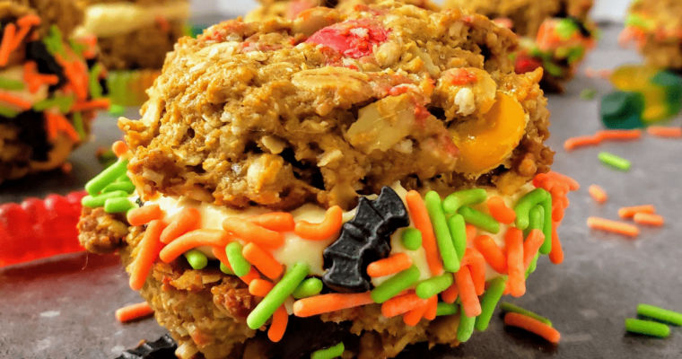 Monster Cookie Sandwiches