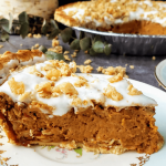 healthy sweet potato pie slice