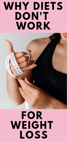 The best diets should not be complicated. In fact, dieting is hurting your weight loss capabilities. If you're looking for the best way to lose weight, find out why diets don't work for weight loss, and what to do instead. #weightloss #dieting #healthyhabits #mindfuleating