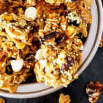 Healthy Cranberry Orange Pistachio Granola