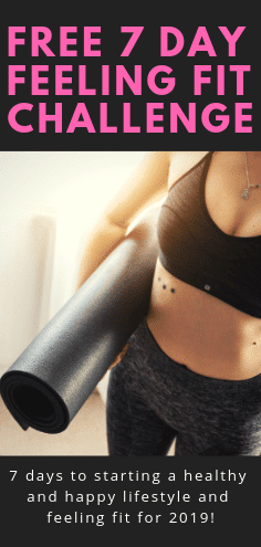 Join this FREE 7 Day challenge to start feeling fitter in 2019! With at home workouts, healthy meal plans and recipes and personal development to feed your soul, you'll get started on your health and workout journey in just 7 days! #healthandfitness #newyearsresolution #workouts #athomeworkout #healthyrecipes #mealplanning #mealplans