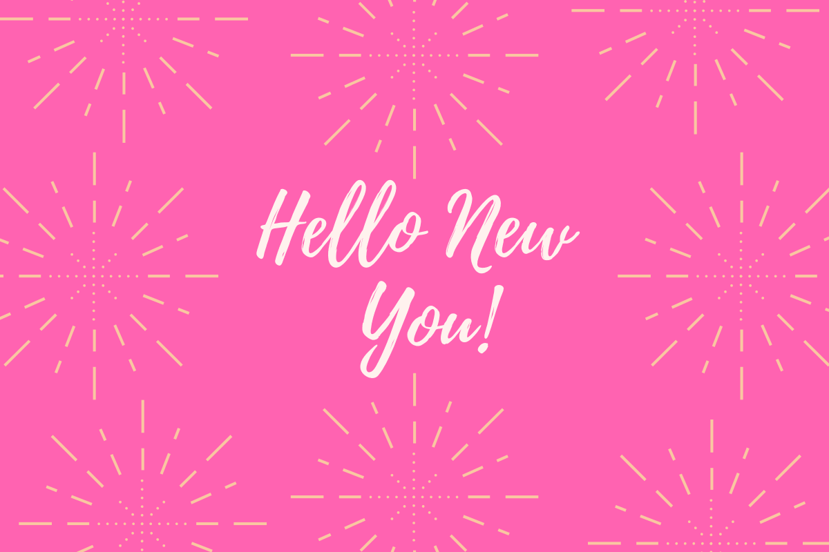 hello new you graphic