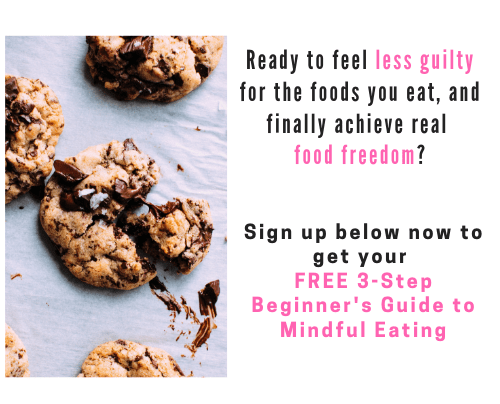 mindful eating guide opt-in form