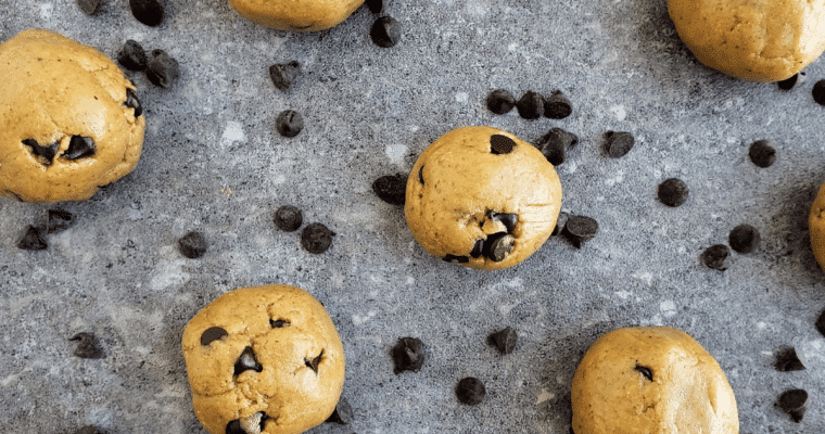No Bake Cookie Dough