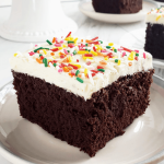 slice of gluten free chocolate cake