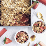 Strawberry Rhubarb Crumble