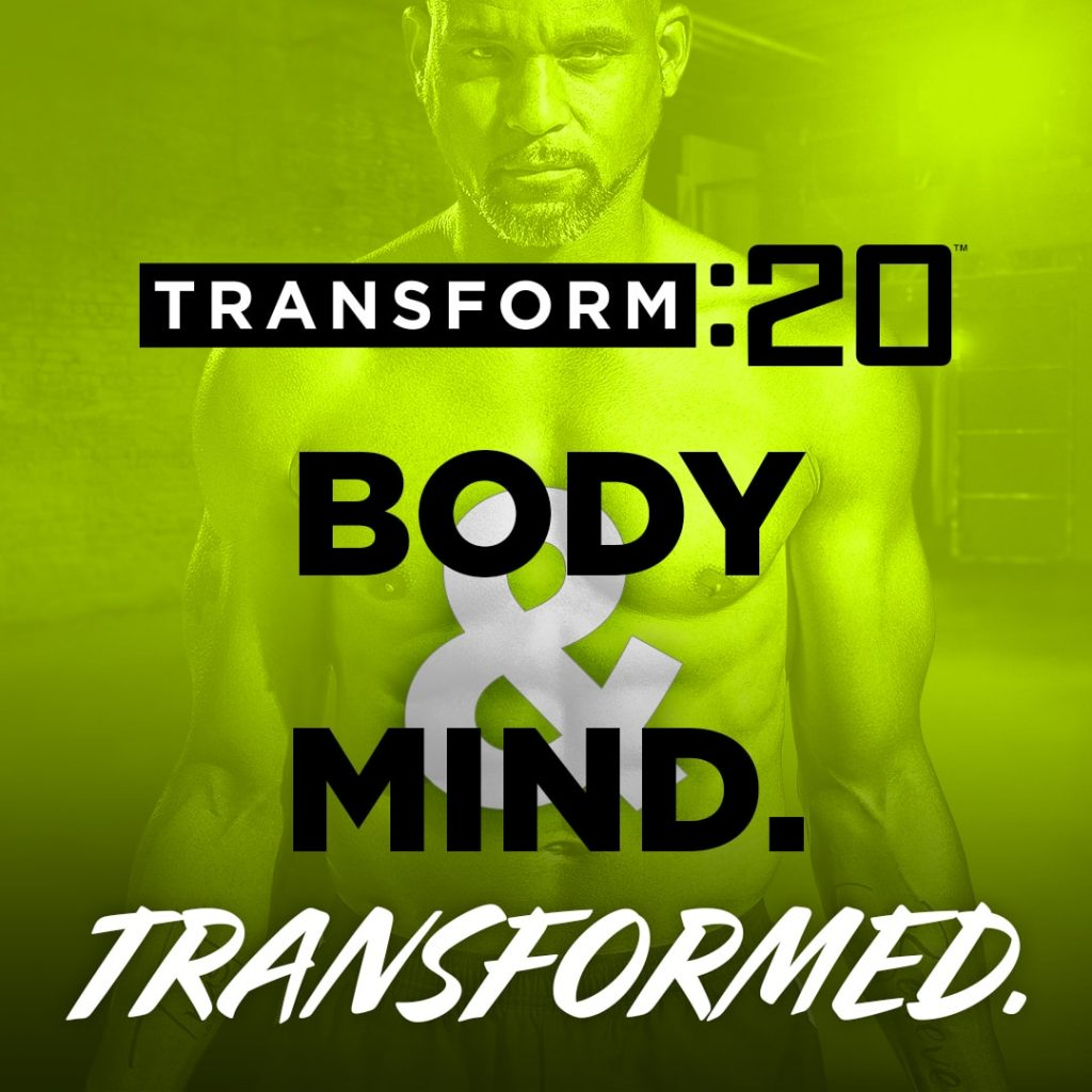 transform 20 graphic about transforming your body and mind