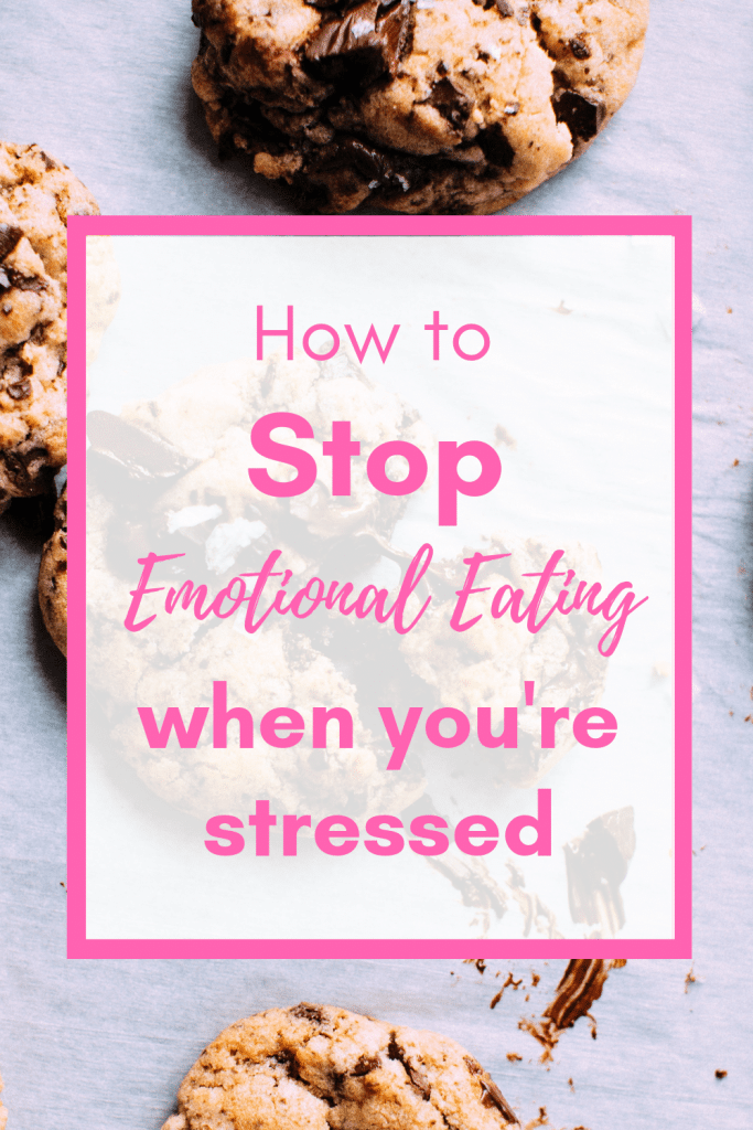 Do you try to stop stress eating but find it just too hard to avoid food using food to cope? Find out how to manage your worries and anxieties with these tips and alternatives for that will help you break the harmful cycle that interferes with your health and weight loss goals. #weightloss #overcomeovereating #howtostopovereating #stopovereating #mindfulliving #healthylifestyle #emotionaleating