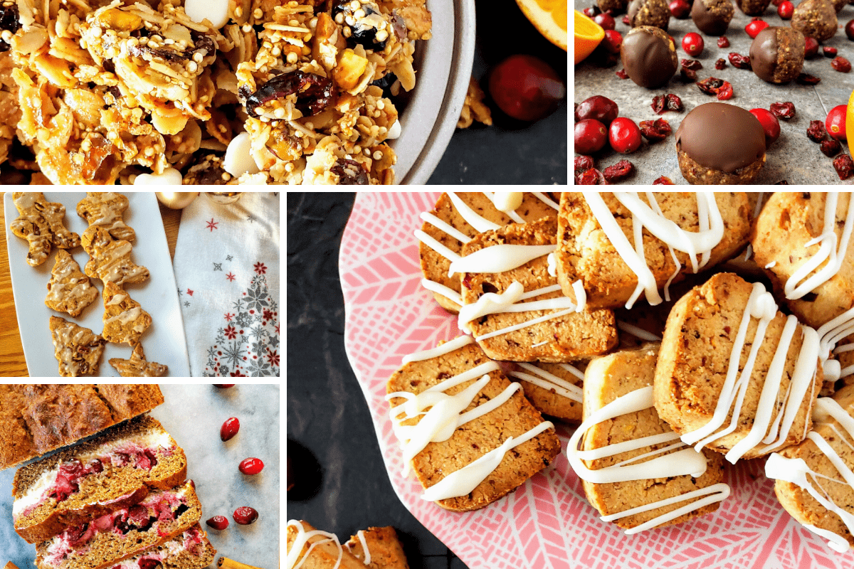 Christmas recipes: cookies, granola, bread and energy bites