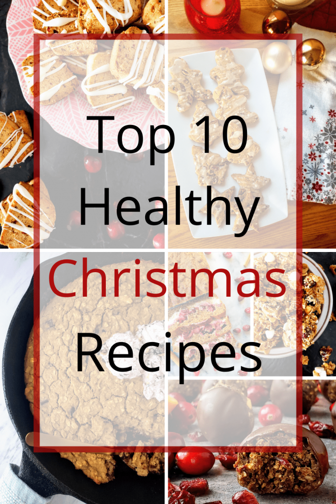 Looking for the perfect healthy Christmas recipes? Check out these ten breakfast and dessert Christmas recipes that will brighten up all your holiday festivities. #glutenfreedessert #vegandessert #Christmasrecipes #Christmasbreakfast #Christmasdesserts