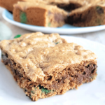 St. Patrick's Day Blondie Bars