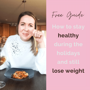 healthy during the holidays: how to still lose weight during the holidays
